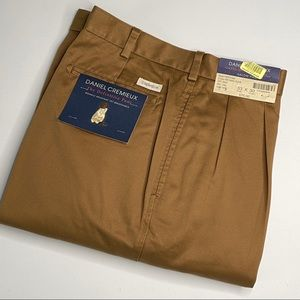 Daniel Cremieux men's salon pants 33x30 brown nwt